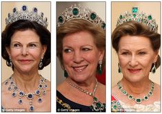 the queens evening gowns - Google Search