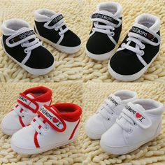 Unisex Baby Infant Sneaker (3 Colors)