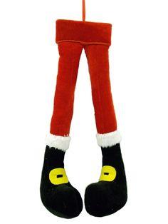 """Plush SANTA Legs 20.5"""""""