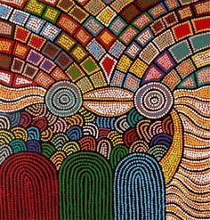 Debra Nangala McDonald ~ Women's Ceremony -  Aboriginal, Inuit, & Native Art