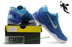 Nike Kobe 8 System iD Men's Basketball Shoe Blue White
