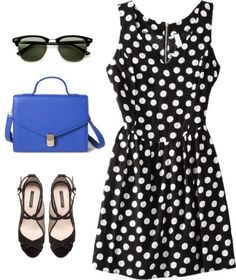 """""""Dotty"""" by marcgirl ❤ liked on Polyvore"""