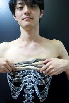 Body Paint Chooo-san aka Hikarucho
