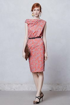 Twisted Vines Sheath #anthropologie