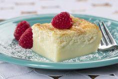 Creamy Custard Cake   MrFood.com  http://www.mrfood.com/Cakes/Creamy-Custard-Cake