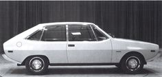 OG | 1972 Audi 80 / B1 - EA 838 | Early full-size design proposal dated 1969