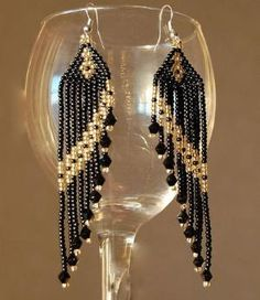 Beaded Earrings by Sharon Sloane