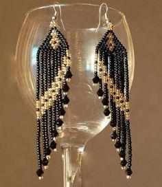 Beaded Earrings by Sharon Sloane