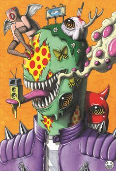 Another Psychedelic Album Cover by JimmyAlonzo on DeviantArt Trippy Drawings, Psychedelic Drawings, Art Drawings, Hippie Painting, Trippy Painting, Creepy Art, Weird Art, Psychadelic Art, Psy Art
