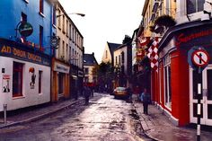 Upper Cross Street, Galway!