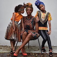"this image of @maureenpowel & her beautiful daughters.  Maureen has collaborated with @mytouchofafrica & designed a range of kids clothing available online only #repost ======> @maureenpowel:One of the most important celebrations in my life is ""Keti Koti ""the abolishment of slavery in Surinam and the Dutch Antilles. Although we still have a long way to go in terms of respect acceptance and tolerance I pray for change. I teach my children how to love to be strong proud of their skincolor…"