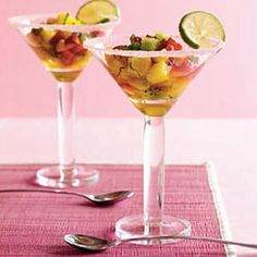 *Mojito Fruit Cocktails*