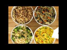 How to Make Cauliflower Rice 4 Ways - Full Recipes! : The Hearty Soul