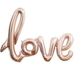 Ballons mylar LOVE