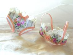 dollhouse miniatures Bra with panties in 1:12 scale-lingerie on Etsy, $13.87