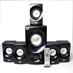 Acoustic Audio AA5171 Home Theater 5.1 Bluetooth Speaker System 700W with Powered Sub   	  	    	  	$ 99.88 Home Audio Speakers Product Features FREE Shipping to the main 48 US states. 30 Day 100% Satisfaction Guarantee! Lifetime Warranty on most products! Authorized Online Dealer! Home Audio Speakers Product Description Specifications New 5.1 Home Theater Multimedia Speaker SystemPower Rating: 700 Watts System PowerFrequency Response: 20Hz – 20KHzBluetoothSD Card and Flash Drive..