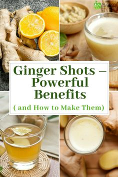 Fresh Ginger is proven to be very beneficial to Health. These Ginger Shot Recipe. - Health and Nutrition Articles - Tumeric And Ginger, Ginger Water, Fresh Ginger, How To Juice Ginger, Uses For Ginger Root, Recipes With Ginger Root, Healthy Juices, Healthy Drinks, Eat Healthy