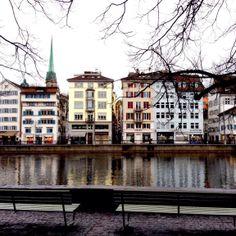 Limmat River | Zurich, Switzerland