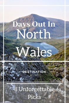 Days Out In North Wales - 8 Unforgettable Picks - Destination Addict - - Great days out in North Wales. From the more realxed to the more adventurous. We have rounded up our favourite things to do in the North Wales area. North Wales Beach, Sightseeing London, Wales Snowdonia, Wales Holiday, Castles In Wales, Snowdonia National Park, Visit Wales, Wales Uk, English Countryside