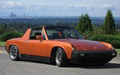 Porsche 914 Bugatti, Lamborghini, Ferrari, Orange Cars, Dream Car Garage, Porsche 912, Vintage Porsche, Dream Machine, Fast Cars