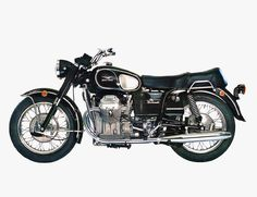 Moto Guzzi Ambassador  Years Built: 1968 to 1972 Engine: 757cc V-twin Expect to Pay: $2,500 to $7,000