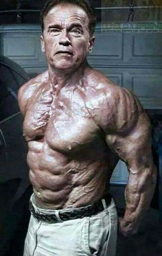 This is the limitless spirt of bodybuilding.master arnoldis above 70 and look his body shape