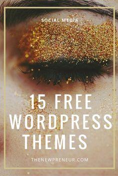 Here are 15 free wordpress themes which you can use to build your blog. Analisamos os 150 Melhores Templates WordPress e colocamos tudo neste E-Book dividido por 15 categorias e nichos de mercado. Download GRATUITO em http://www.estrategiadigital.pt/150-melhores-templates-wordpress/