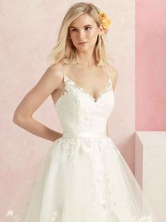 620f8a6a1ee0 Style Sweet Flirty, feminine and fit for a princess, Sweet is a ball gown  made from cascading layers of butterfly lace on tulle, with a horsehair  trim for ...