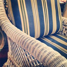 #Wicker #Chair closeup #view showcased on the... | Wicker Blog  wickerparadise.com
