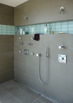 Quality Homeware Products double shower bathroom