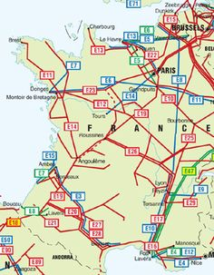 carte des pipelines