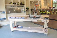 DIY Miter Saw Bench