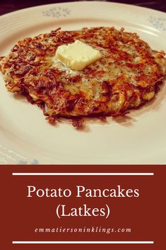 Is there anything more beautiful than a perfectly golden potato pancake? Yes. The taste of a perfectly golden potato pancake. So let's get cooking! #potatopancakes #latkes #polishfood
