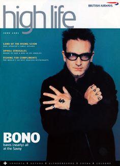 U2's Bono - High Life (2001)