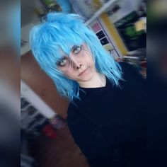 Don't judge the book by its cover. It may not be what it appears. make-up & edit by 💙🔪🎭 Face Images, Don't Judge, Cosplay Ideas, Sally, Dreadlocks, Book, Hair Styles, Cover, Life