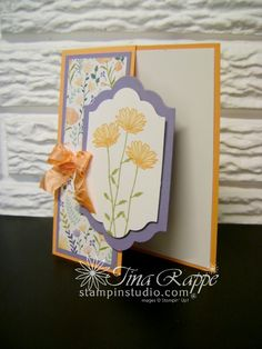 Stampin' Up! Daisy Delight stamp set, Delightful Daisy Designer Series Paper, Stampin' Studio