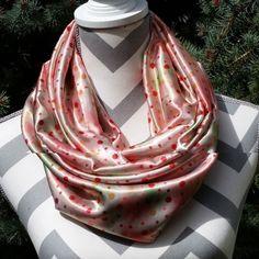 Got to love polka dots. http://ift.tt/1K5wyzr #designedbybrendaH #giftsforher #gifts #handcrafted #handmadewithlove #handmade #etsyusa. #etsysellers #etsyonsale #etsy #etsylove #etsyshopowner #etsthunter #etsysale #etsyprepromo #etsypromo #shopetsy #fashionista #etsyforsale #etsyforall #scarves
