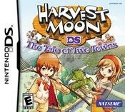 Harvest Moon The Tale Of Two Towns Nintendo Ds Harvest Moon Harvest Moon Game Harvest Moon Ds