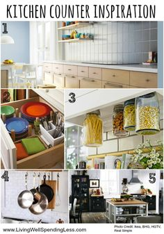 Join the LWSL Clutter Free Challenge this October & FINALLY get rid of the clutter that is filling up your home, mind & schedule...once and for all!   Day 10 focuses on kitchen counters --check out today's post for inspiration and a checklist to get you started!  #LWSLClutterFree