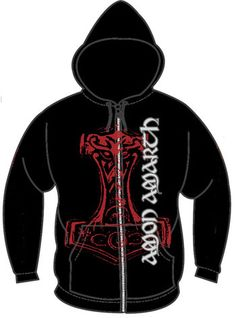 Amon Amarth Thor Hammer Zip Hoodie for $42.95 (ON SALE AT OUR WEBSITE FOR A SHORT TIME)   http://www.jsrdirect.com/merch/amon-amarth/thor-hammer-zip-hoodie  #amonamarth #metalhoodies #bandhoodies #ziphoodies #metalziphoodies #thorshammer #thorhammer