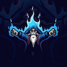 Images may contain: 1 person – Graffiti World Team Logo Design, Logo Desing, Mascot Design, Game Design, Logo D'art, Wizards Logo, Logo Image, Ninja Logo, Graffiti