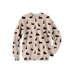 SALE Bunny Foo Foo Sweatshirt by MyLittleBelleville on Etsy https://www.etsy.com/listing/206748437/sale-bunny-foo-foo-sweatshirt