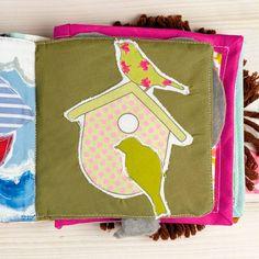Tutoriel DIY: Comment coudre un livre interactif pour bébé via DaWanda.com