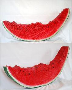 Kenneth Flijders, 'Just a melon', mixed media/wood, 104 cm wide x 50 cm high x 10 cm deep, 2011 - USD 750 / PHOTO Readytex Art Gallery/William Tsang