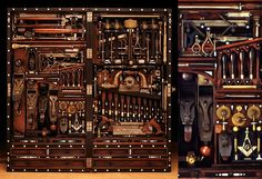 Antique tool chest, makes me want to learn a wood-working trade