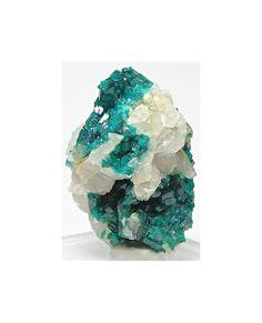 Emerald Green Dioptase Mineral Specimen Focal by FenderMinerals