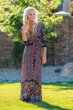 Bentley Wrap Dress | SexyModest Boutique