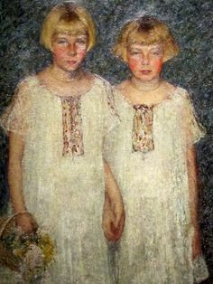REFLECTIONS — The Sisters1924 by Helen Turner