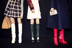 Christian Dior Pre-Fall 2015 RTW – Backstage – Vogue (Photographed by Taylor Jewell)