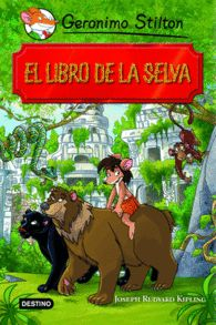 EL LIBRO DE LA SELVA GERONIMO STILTON